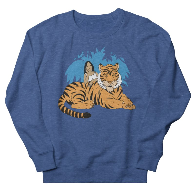 Pet Tiger Men's Sweatshirt by Freehand