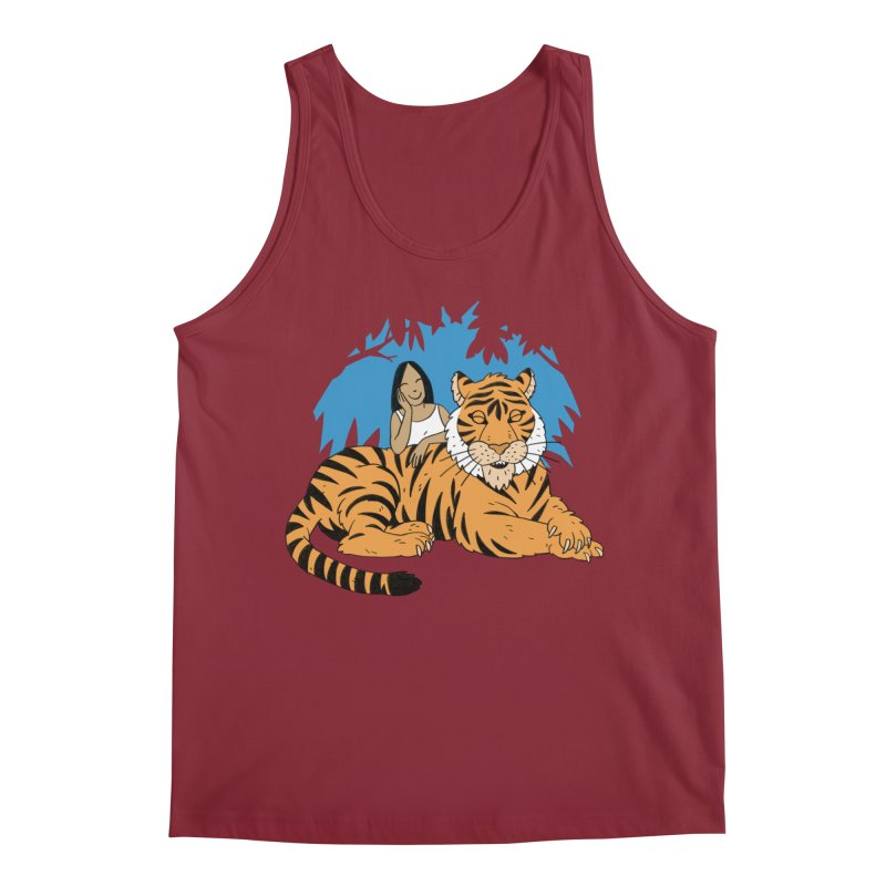 Pet Tiger Men's Tank by Freehand