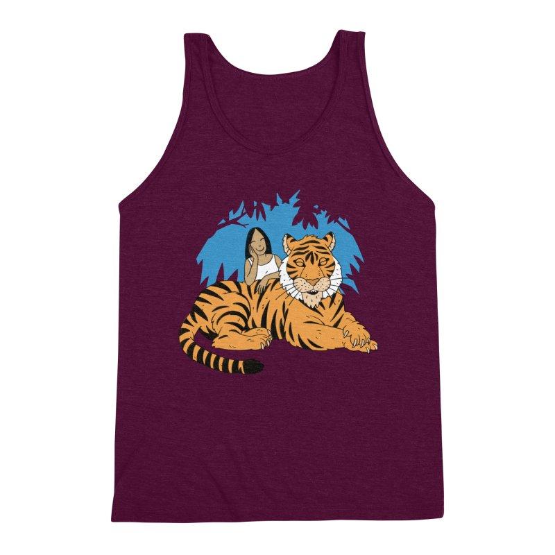 Pet Tiger Men's Tank by Freehand