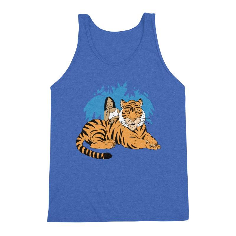 Pet Tiger Men's Triblend Tank by Freehand