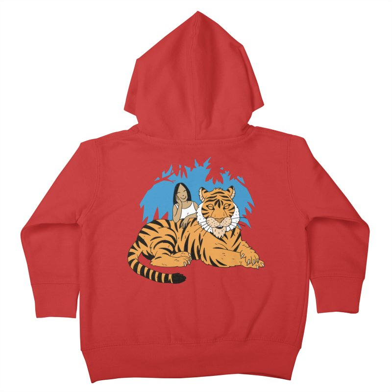 Pet Tiger Kids Toddler Zip-Up Hoody by Freehand