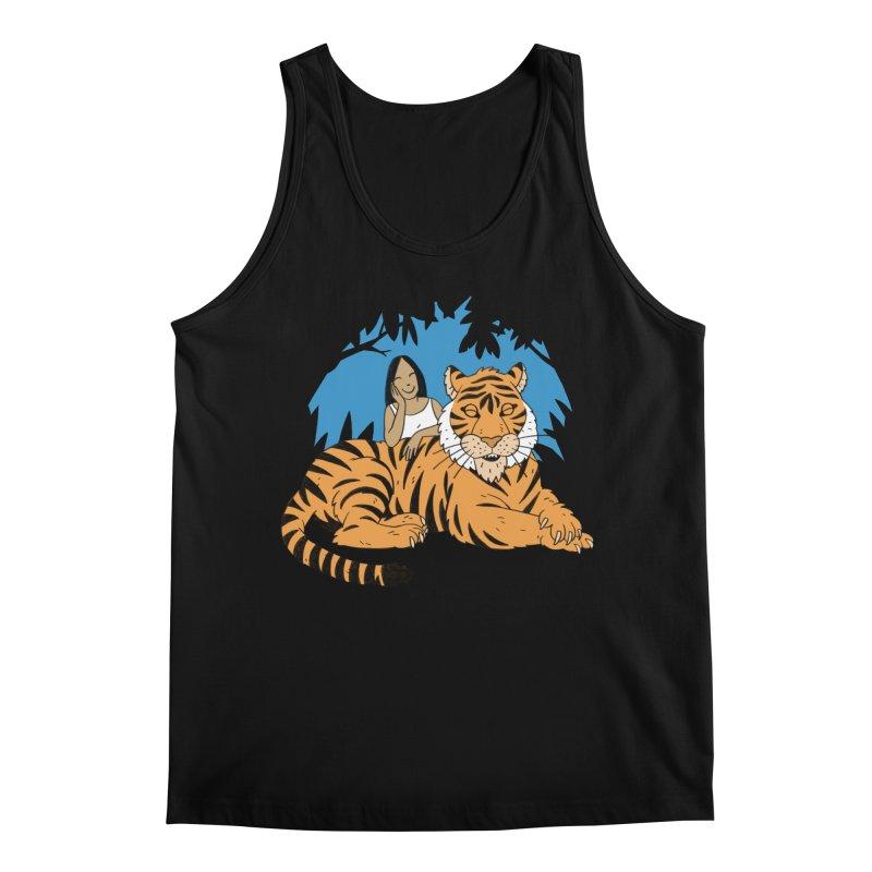 Pet Tiger Men's Regular Tank by Freehand