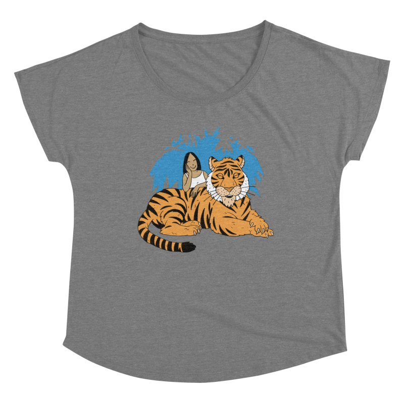Pet Tiger Women's Scoop Neck by Freehand