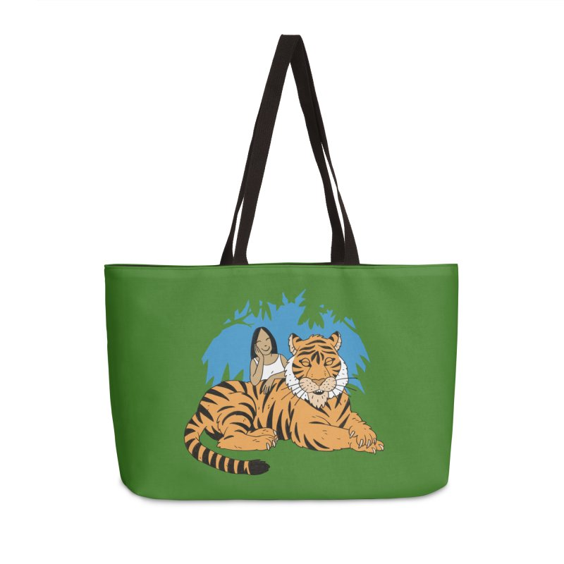 Pet Tiger Accessories Weekender Bag Bag by Freehand