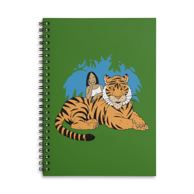 Pet Tiger Accessories Notebook by Freehand
