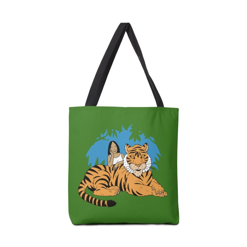 Pet Tiger Accessories Tote Bag Bag by Freehand