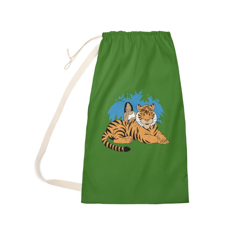 Pet Tiger Accessories Laundry Bag Bag by Freehand