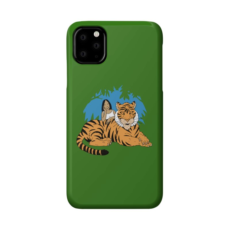 Pet Tiger Accessories Phone Case by Freehand