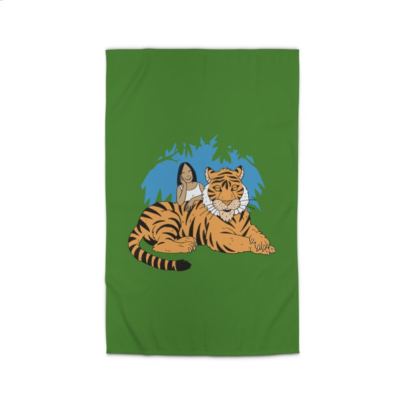 Pet Tiger Home Rug by Freehand