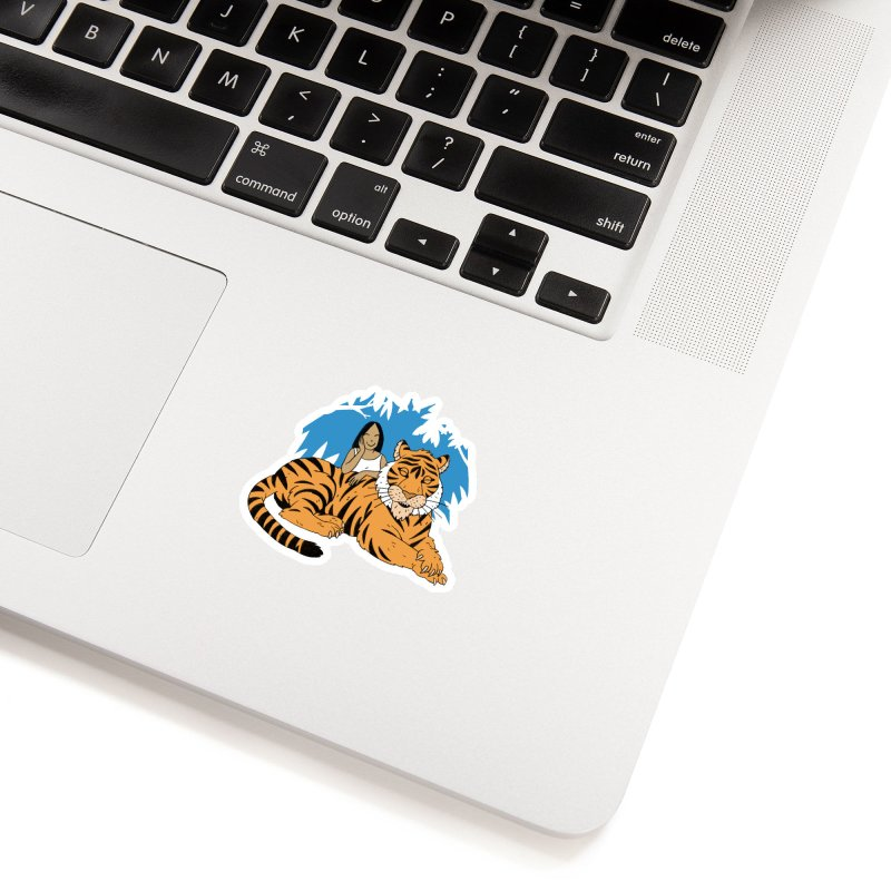 Pet Tiger Accessories Sticker by Freehand