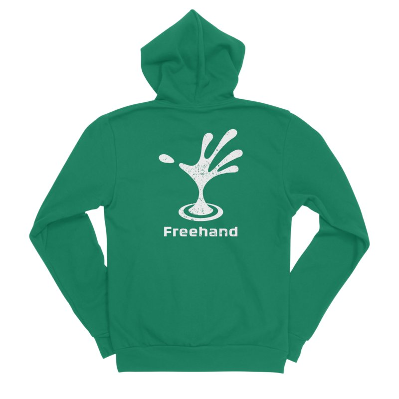 Freehand Men's Sponge Fleece Zip-Up Hoody by Freehand