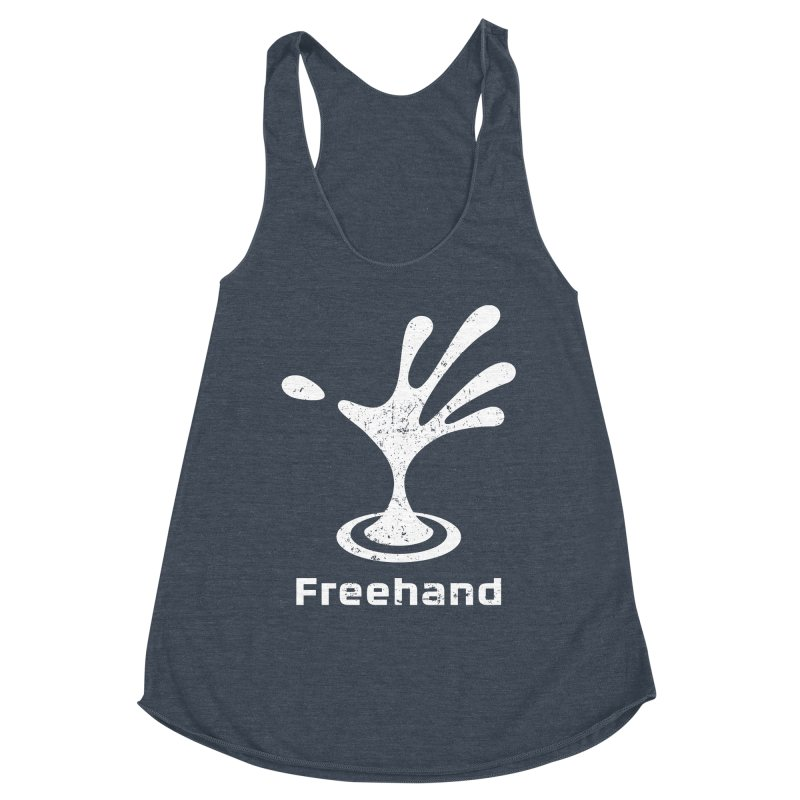 Freehand Women's Racerback Triblend Tank by Freehand