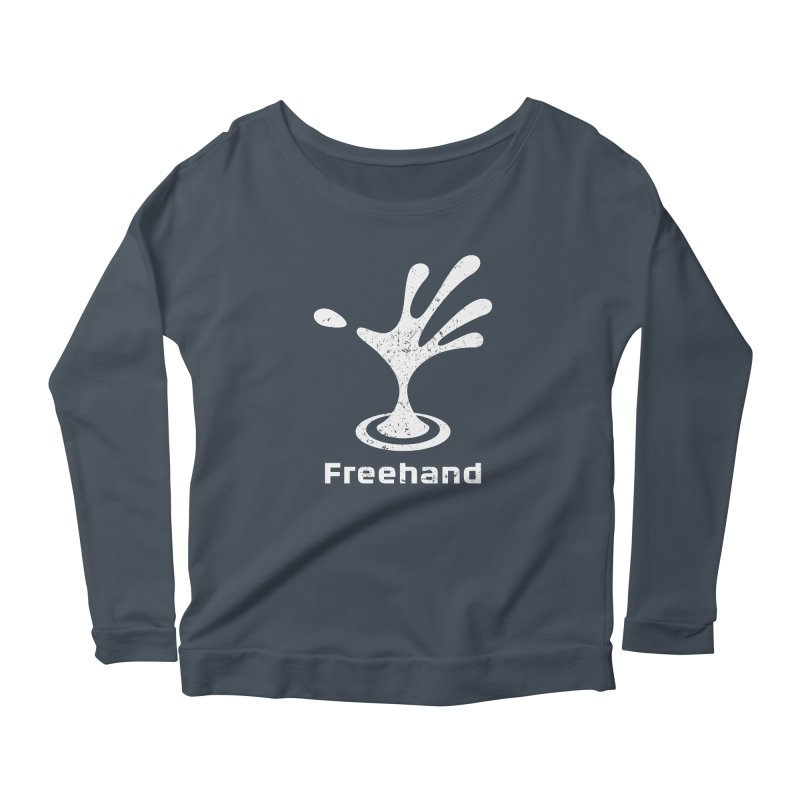 Freehand Women's Scoop Neck Longsleeve T-Shirt by Freehand