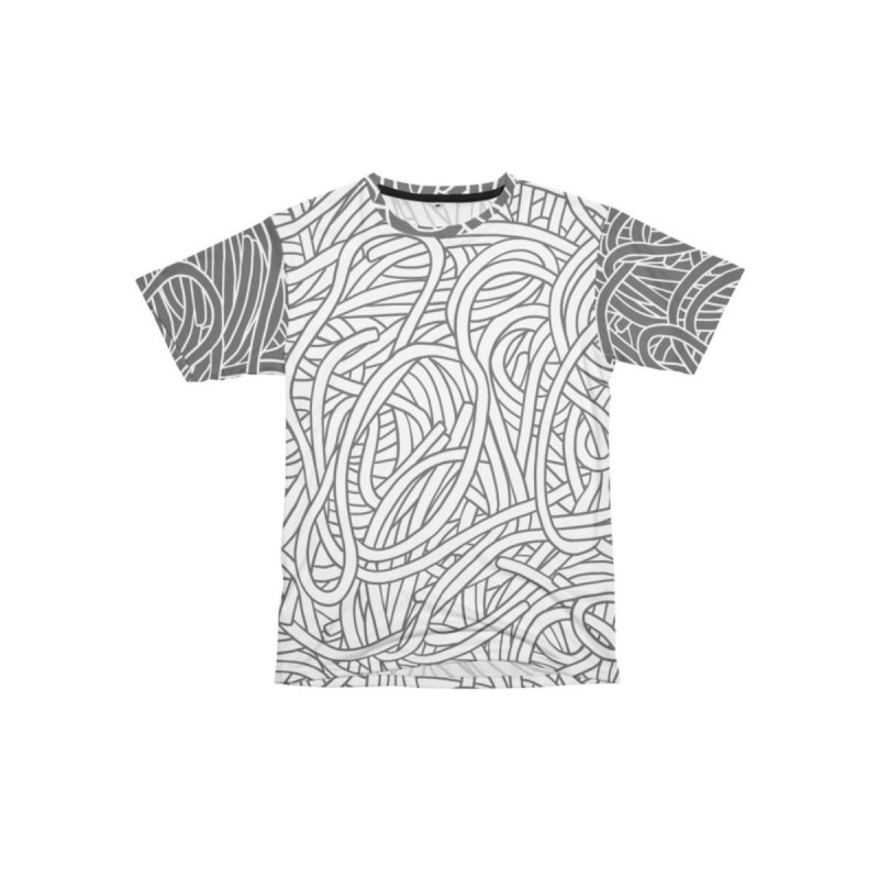 Non-aligned Noodles Men's Cut & Sew by Freehand