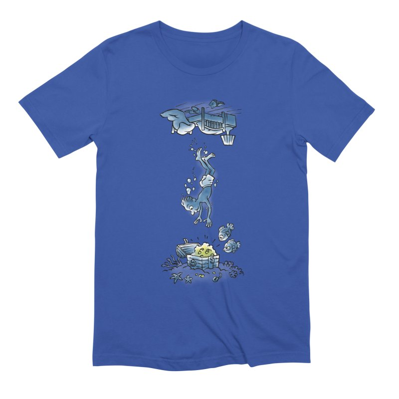 Deep Dreaming Men's Extra Soft T-Shirt by Freehand