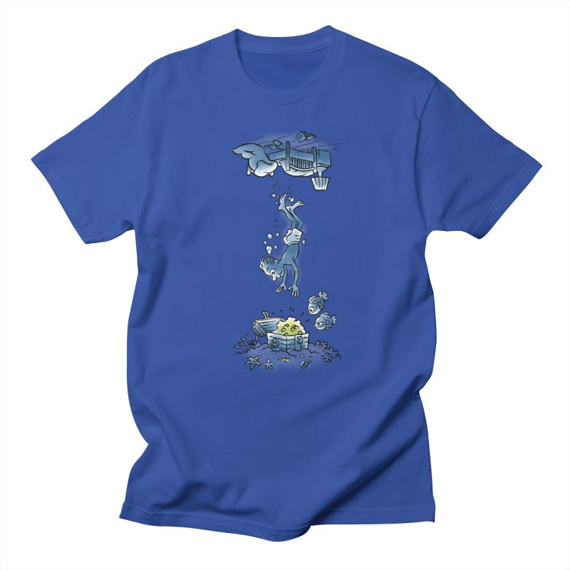 Deep Dreaming Men's Regular T-Shirt by Freehand