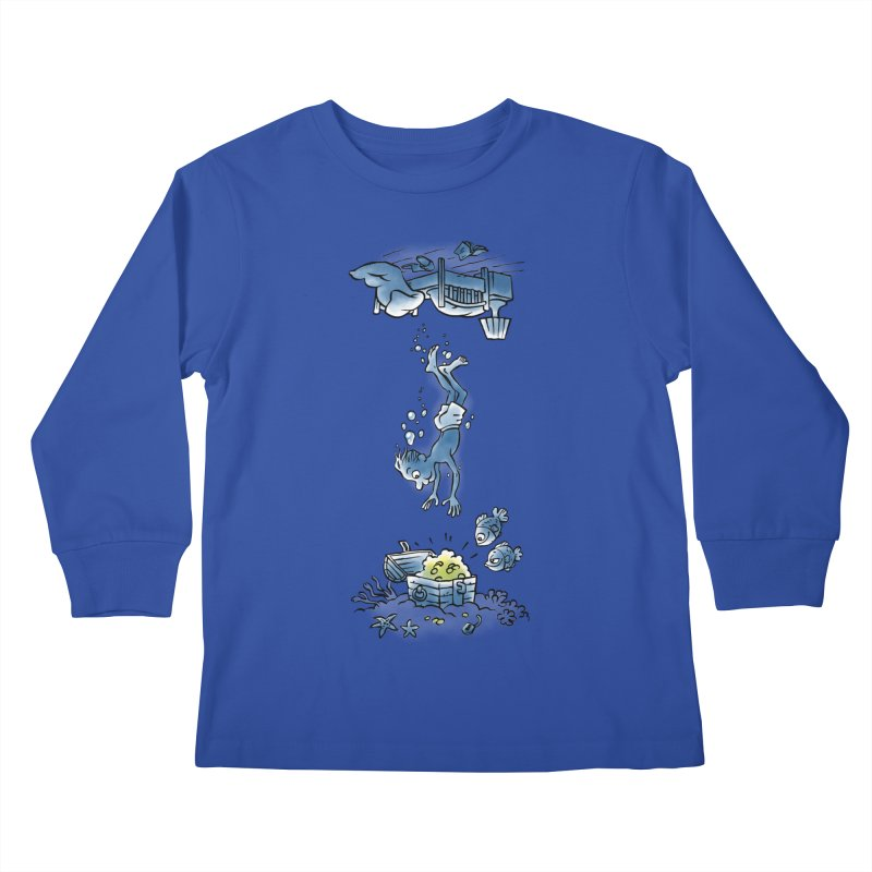 Deep Dreaming Kids Longsleeve T-Shirt by Freehand