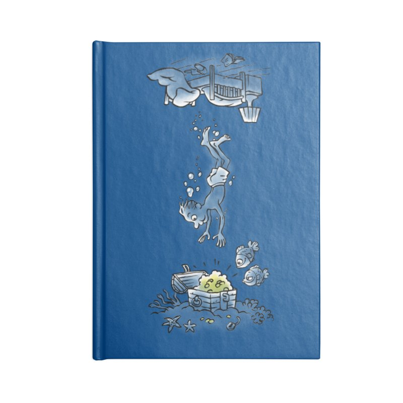 Deep Dreaming Accessories Lined Journal Notebook by Freehand