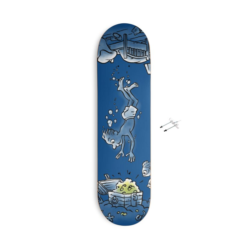 Deep Dreaming Accessories With Hanging Hardware Skateboard by Freehand