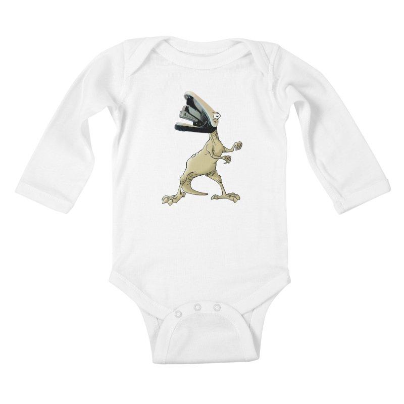 Staplosaurus Kids Baby Longsleeve Bodysuit by Freehand