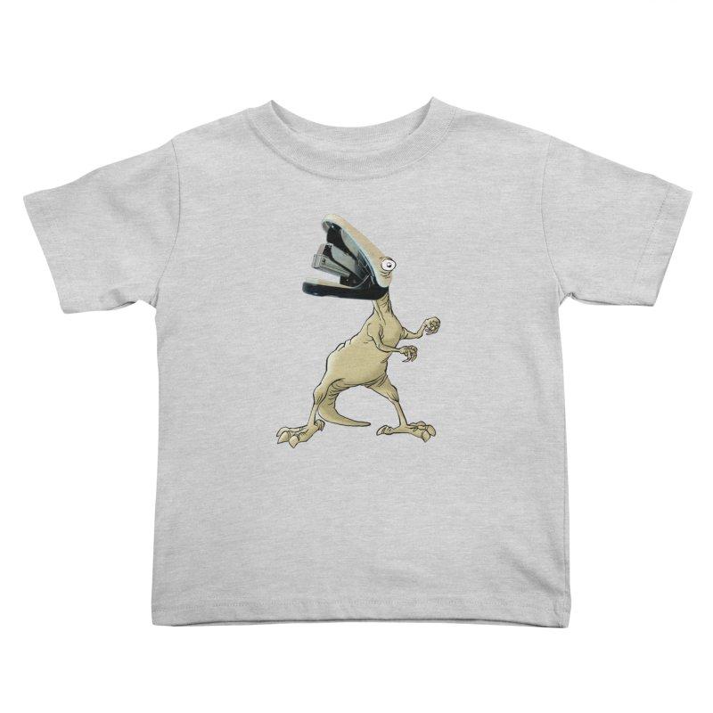Staplosaurus Kids Toddler T-Shirt by Freehand
