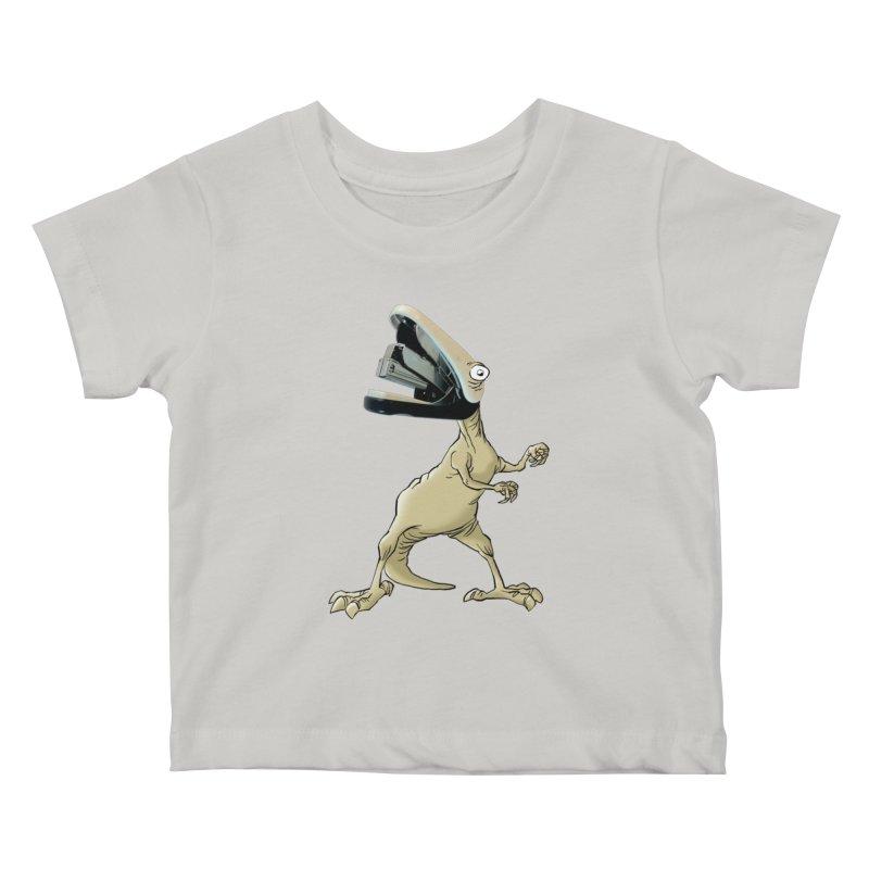 Staplosaurus Kids Baby T-Shirt by Freehand