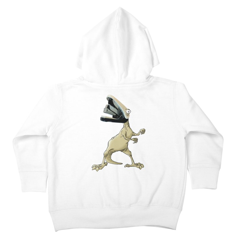 Staplosaurus Kids Toddler Zip-Up Hoody by Freehand