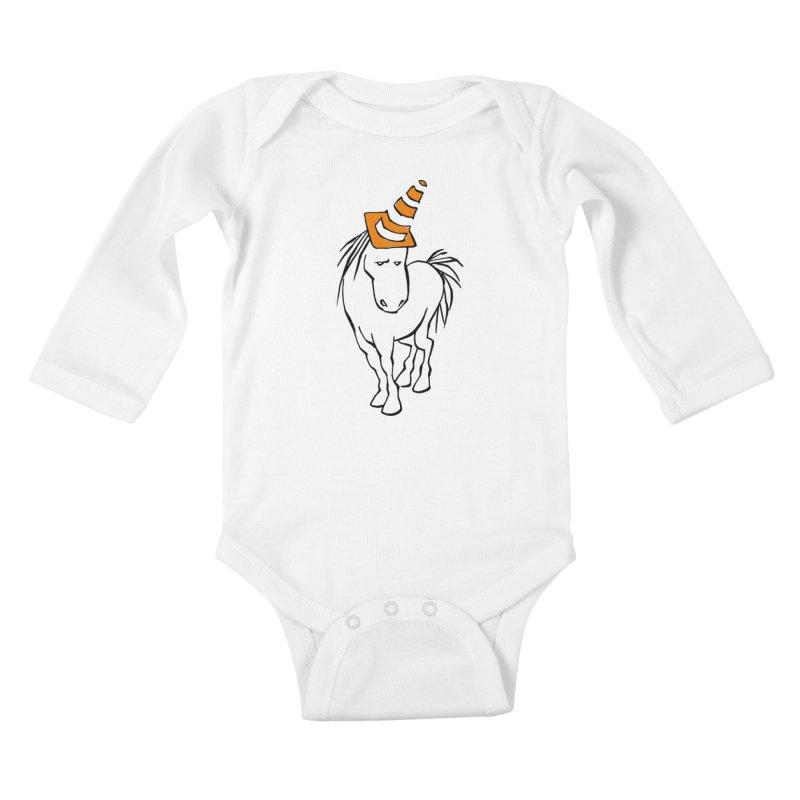Unicone Kids Baby Longsleeve Bodysuit by Freehand
