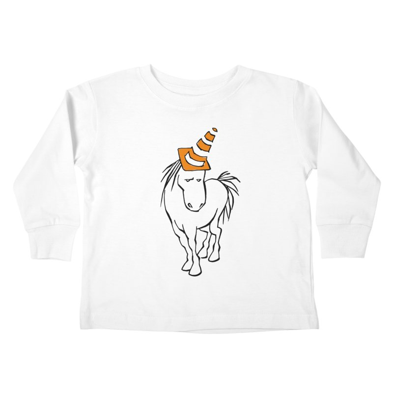 Unicone Kids Toddler Longsleeve T-Shirt by Freehand