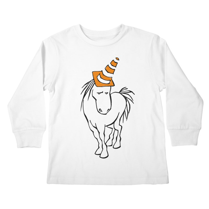 Unicone Kids Longsleeve T-Shirt by Freehand