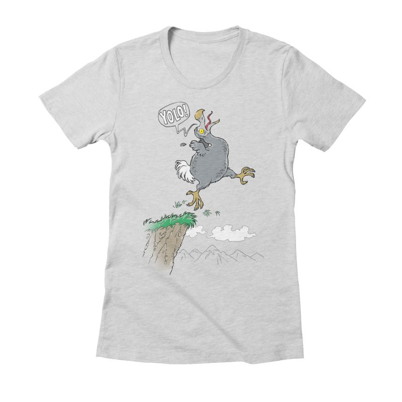 YoloDodo Women's Fitted T-Shirt by Freehand