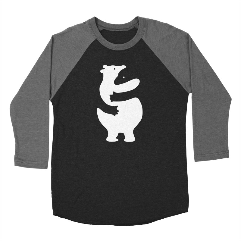 Huggers, white edition Men's Longsleeve T-Shirt by Freehand