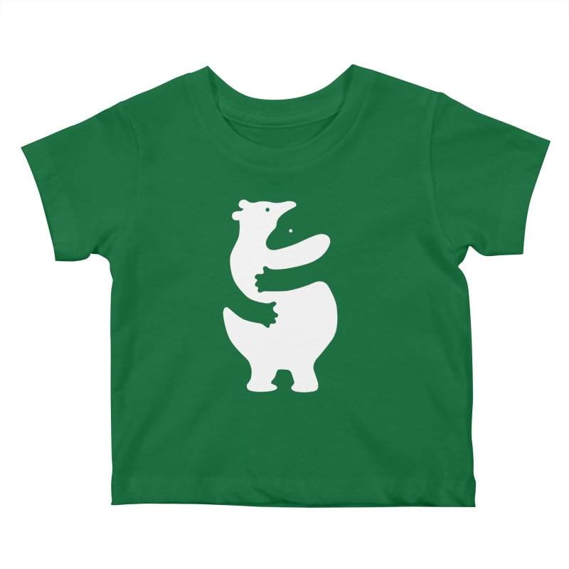 Huggers, white edition Kids Baby T-Shirt by Freehand