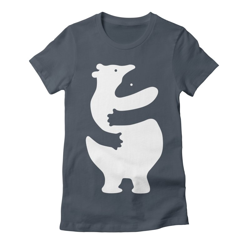 Huggers, white edition Women's T-Shirt by Freehand