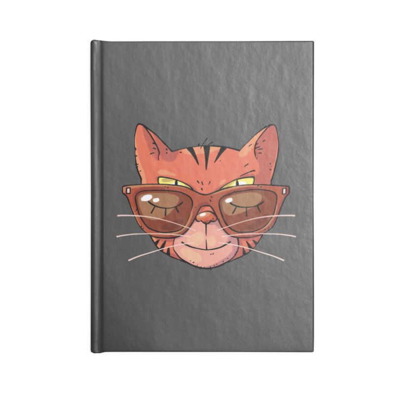 Asleep And Alert Accessories Notebook by Freehand