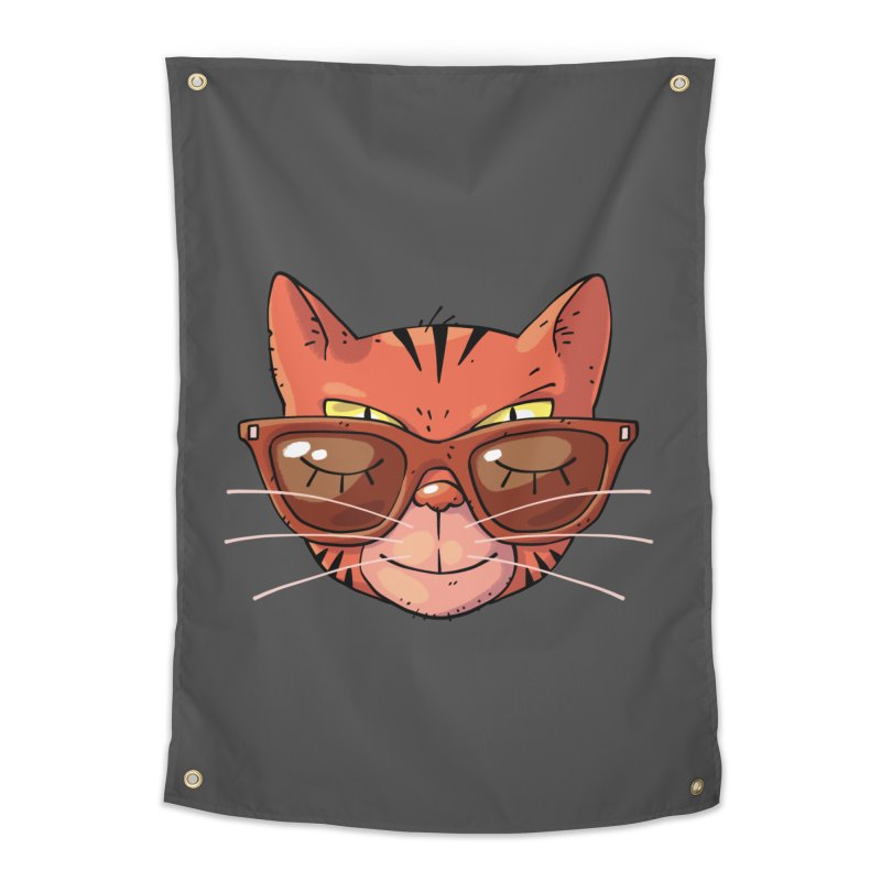 Asleep And Alert Home Tapestry by Freehand