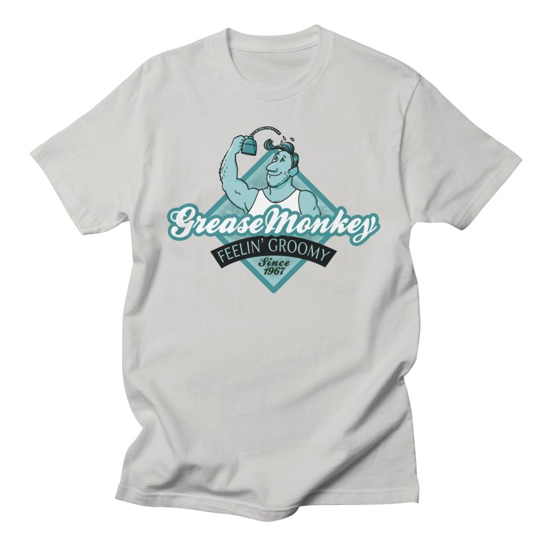Grease Monkey Men's T-Shirt by Freehand