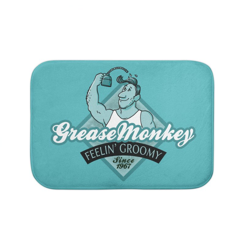 Grease Monkey Home Bath Mat by Freehand