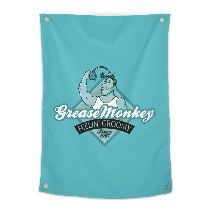 Grease Monkey Home Tapestry by Freehand