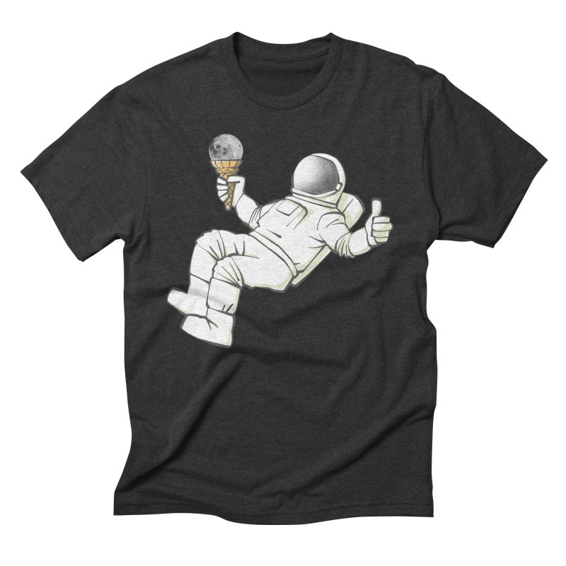 Lunar Trickshot Men's Triblend T-Shirt by Freehand