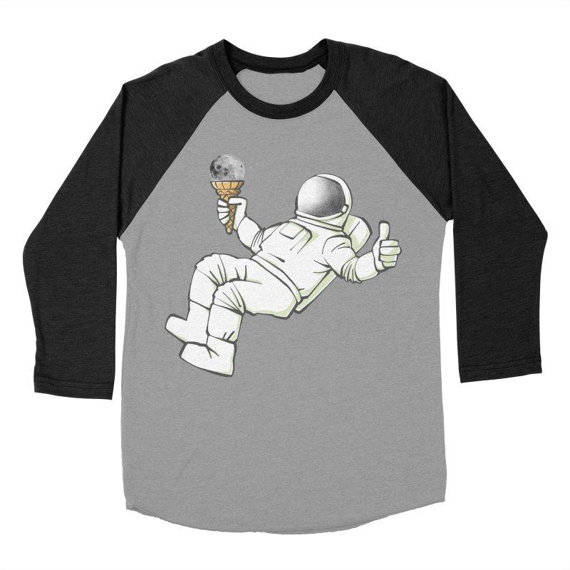 Lunar Trickshot Men's Baseball Triblend T-Shirt by Freehand