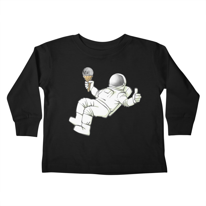 Lunar Trickshot Kids Toddler Longsleeve T-Shirt by Freehand