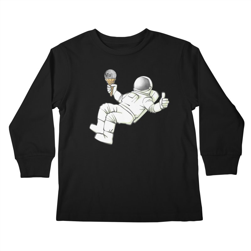 Lunar Trickshot Kids Longsleeve T-Shirt by Freehand