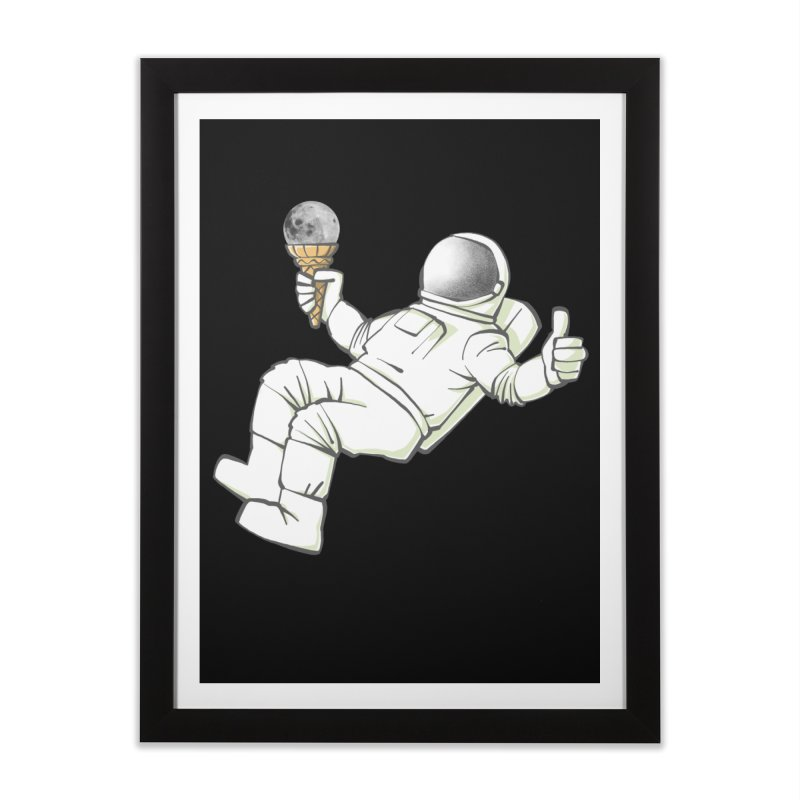 Lunar Trickshot Home Framed Fine Art Print by Freehand
