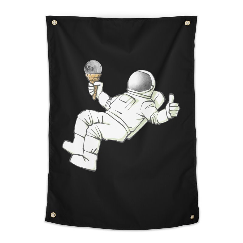 Lunar Trickshot Home Tapestry by Freehand