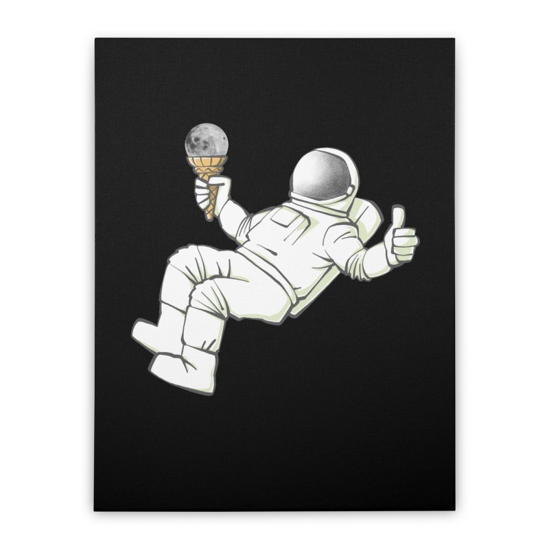 Lunar Trickshot Home Stretched Canvas by Freehand