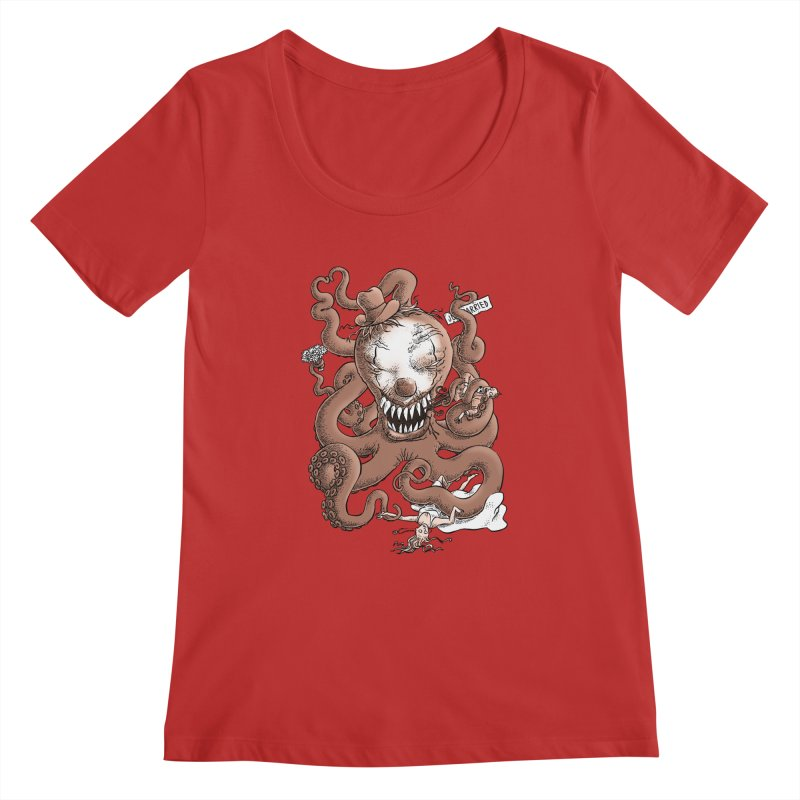 The Wedding Crasher Women's Scoopneck by Freehand