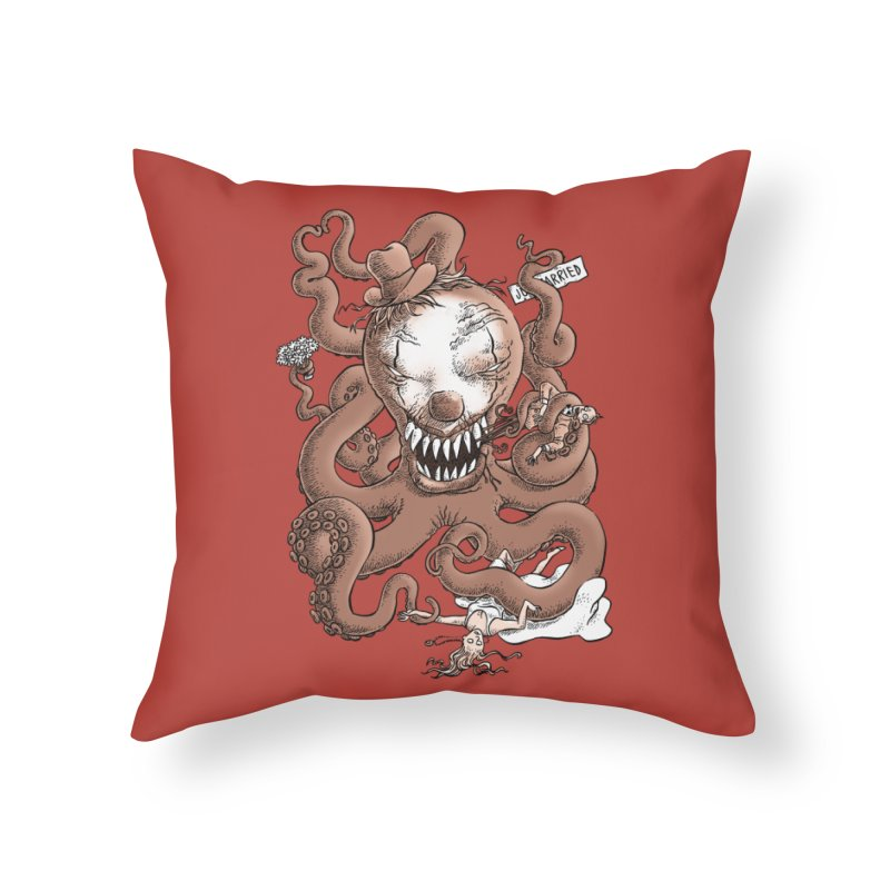 The Wedding Crasher Home Throw Pillow by Freehand