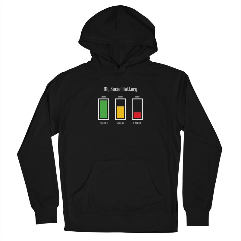 My Social Battery Women's Pullover Hoody by Freehand