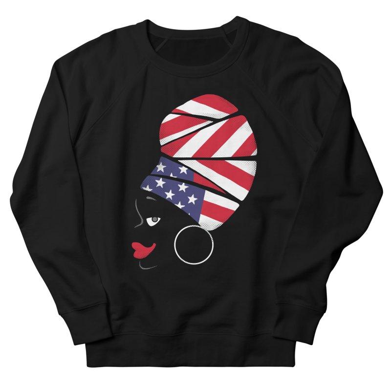 Black American Self-confidence Women's Sweatshirt by Freehand